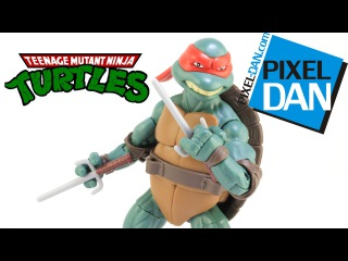 Raphael Teenage Mutant Ninja Turtles Secret of the Ooze Figure Video Review