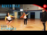 The Cast Rehearses with Choreographer Paul Becker   Riverdale 1x10 [2KHD]