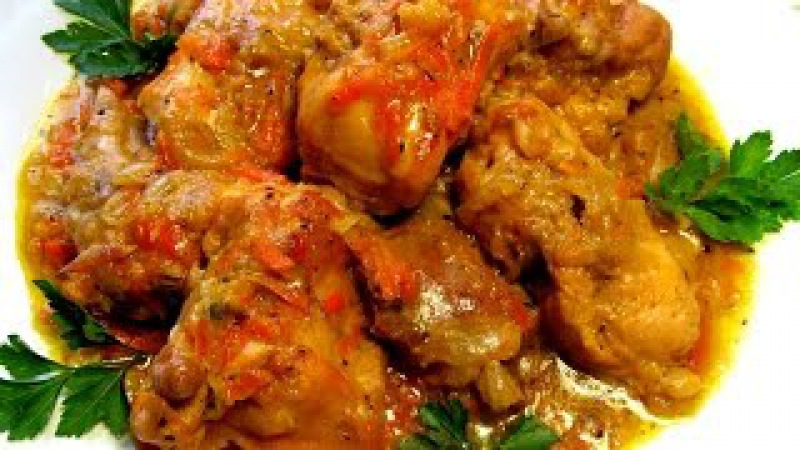 Вкусно - КРОЛИК тушеный в сметане Рецепт Тушеные Рецепты