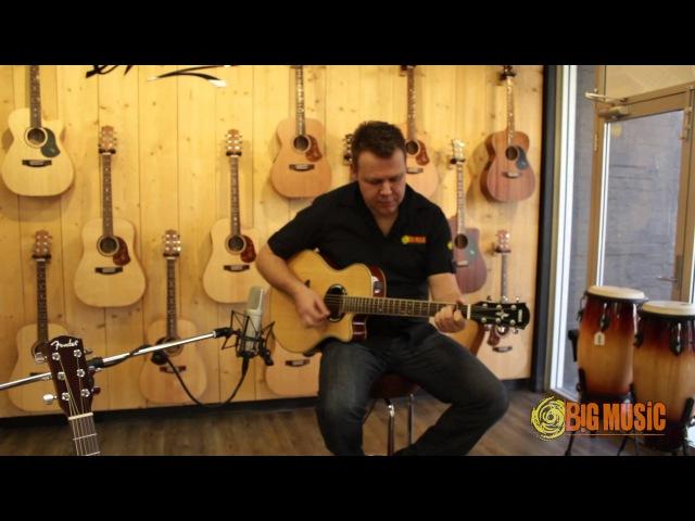 Fender CD-140SCE v Yamaha APX500III v Fender Hellcat   Product Shootout