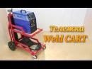 Тележка для сварочного аппарата Welding Cart Making Custom EASY