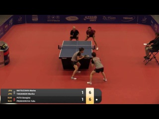 2016 Belgium Open Highlights: Marina Matsuzawa/Mariko Takahashi vs Georgina Pota/Yulia P. (Final)