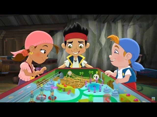 Джейк и пираты Нетландии - Привет, мальчик-русалка! / Пиратский пинбол! - Серия 23, С...