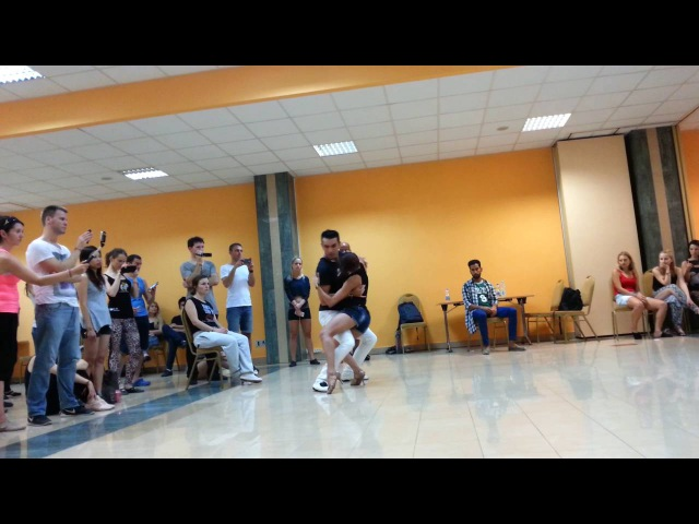 Michael Boy Aline Borges zouk Bachaturo 2016 Saturday demo 1