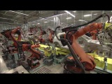Mercedes A Class Production Line