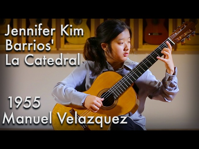 Barrios La Catedral played by Jennifer Kim (1955 Velazquez)