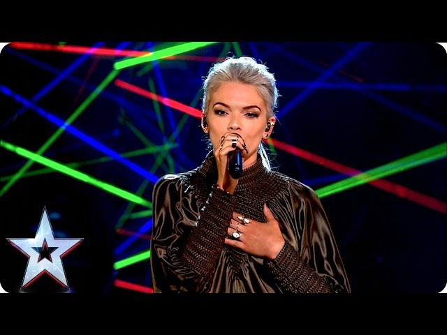 Clean Bandit and Louisa perform new single Tears Grand Final Results Britain's Got Talent 2016