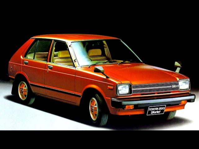 Toyota Starlet 5 door JP spec P60 '06 1980–10 1984