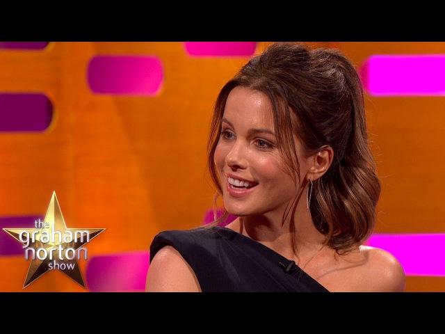 Kate Beckinsales Chocolate Buttocks Prank Story - The Graham Norton Show