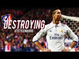 Cristiano Ronaldo Destroying Atletico Madrid 2009-2017 | HD