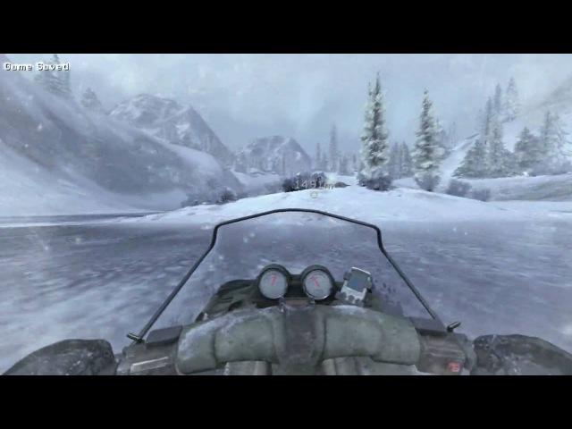 Modern Warfare 2: The Snowmobile Chase