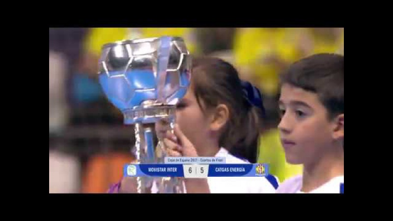 Spain Cup - Quarter Finals - Inter Movistar 6x5 Catgas Energia
