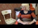 Декупаж стула обычными салфетками. Часть 2.Анонс про тумбочку от дизайнера