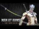 Genjis Sword - Overwatch - MAN AT ARMS REFORGED