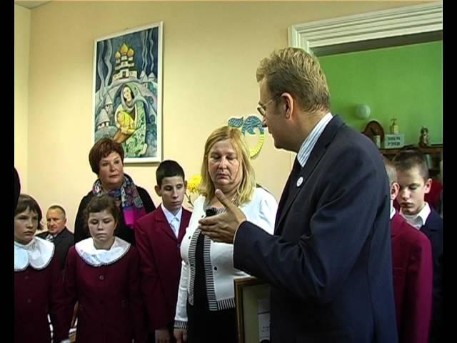 Бібліотека для сліпих святкує 50 років Львів 2012