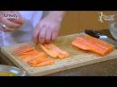 Рецепт с красной рыбой. Посуда iCook. Готовим дома