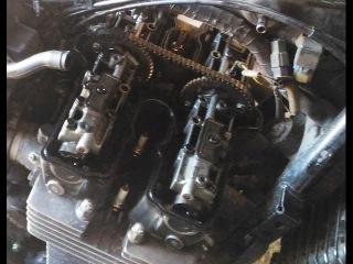 № 1 Ремонт двигателя HONDA CB 750 (цепь ГРМ)