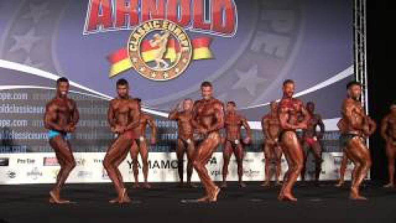 Arnold Classic Europe 2016 - Classic Bodybuilding -180cm Elimination Round