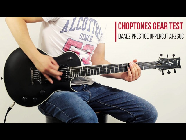 Ibanez Uppercut ARZ6UC-BKF Metal Demo Playthrough