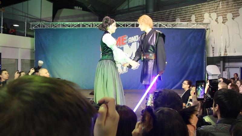 Fate Testarossa, Bloodwin - Star Wars - Anakin Skywalker, Padmé Amidala - GAME FILM ЕХРО 2016