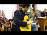 Вячеслав Шишман в библиотеке №32 им. Г. Троепольского, греческая музыка