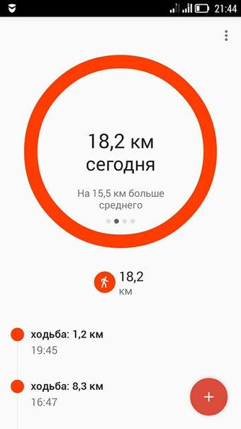 Прошли за первый день почти 20 километров.