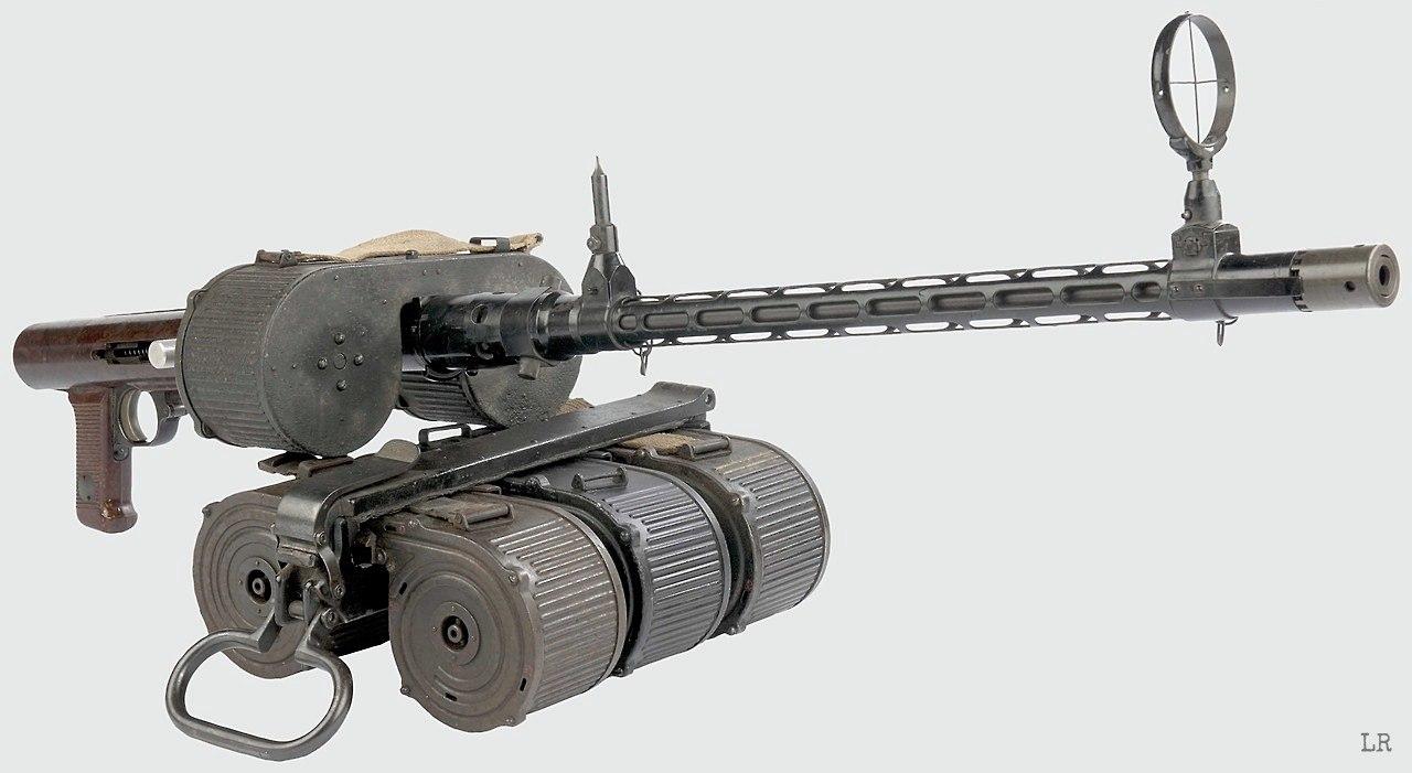 Bergmann Maschinengewehr 15, Германия '30-40 гг.