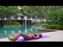 Как подтянуть и сделать плоским живот после родов быстро. Фитнес упражнения для девушек
