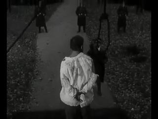 «Руины стреляют» (Беларусьфильм, 1970) — захват и казнь Казинца гитлеровцами (роли Владимира Козела)
