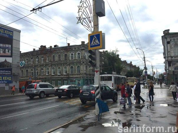 На улице Радищева в Саратове движение будет двусторонним, сообщили в п