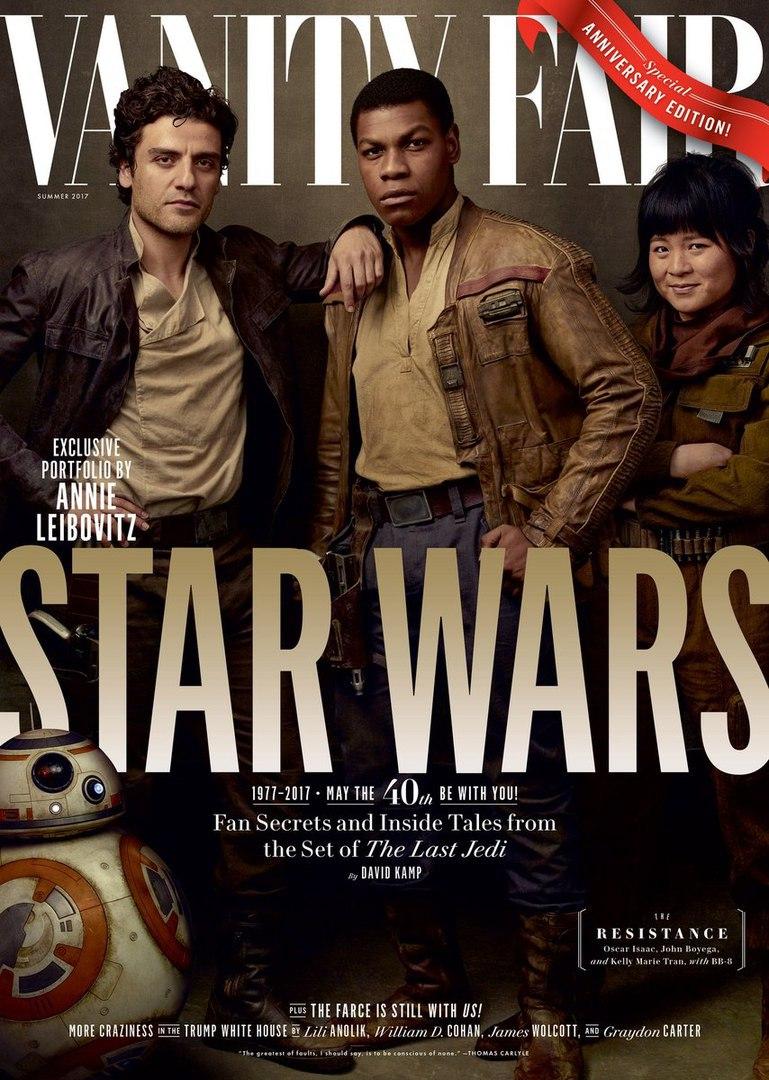 Промо с обложек к фильму «Звездные Войны: Последние Джедаи»