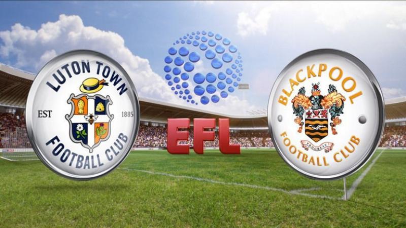 Чемпионат Англии 2016-17 / League Two / Плей-офф / 1/2 Финала / Ответный матч / Лутон - Блэкпул