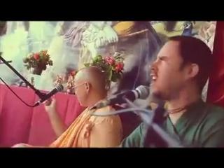 BB GOVINDA SVAMI AND DEVOTEES