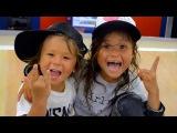 4 7 Year Old Amazing Skateboarding Kids   Sky Ocean   KWR! Ep 2