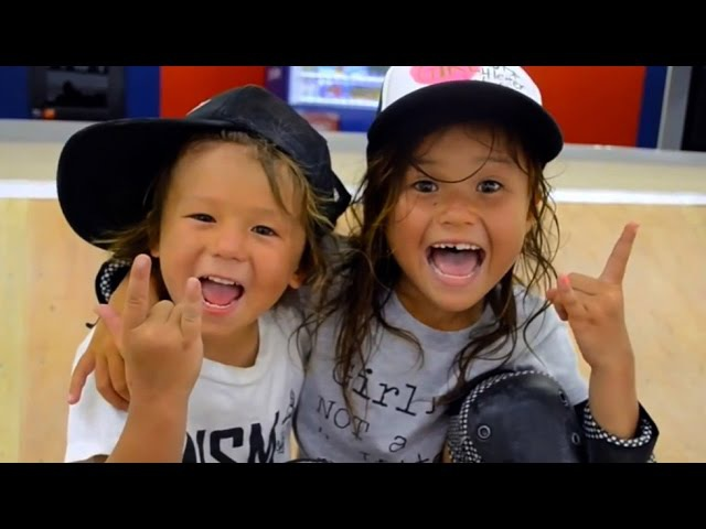 4 7 Year Old Amazing Skateboarding Kids | Sky Ocean | KWR! Ep 2