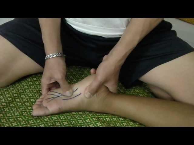 Thara Thai Massage นวดแก้อาการเอ็นฝ่าเท้าอักเสบ