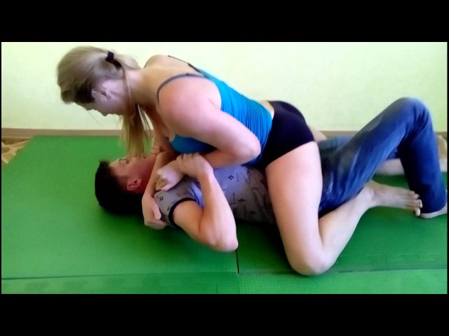 Mixed wrestling. Video previews. Yana educate younger brother