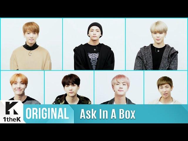 ASK IN A BOX: BTS(방탄소년단) 'Blood Sweat Tears(피 땀 눈물)'