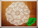 How to crochet big doily 17 diameter - Part 1 of 3