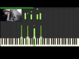Merry Christmas, Mr. Lawrence (Piano TutorialSynthesia)