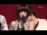 20.09.2009 1nkigayo T-ARA &amp Supernova Time To Love