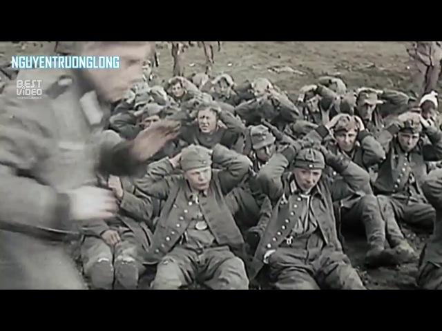 Кадры взятия Берлина 1945 года в цвете