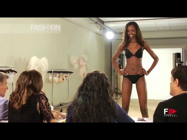 VICTORIAS SECRET 2013 Casting Interviewing Models HD by Fashion Channel