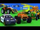 Сборник мультиков про машинки. Грузовик Тема и Трактор Макс спешат на помощь к своим друзьям.