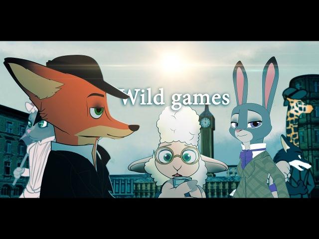 Wild games (Zootopia - Sherlock Holmes parody animation)