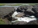 Водопад на реке Хальмер-Ю. Воркута.