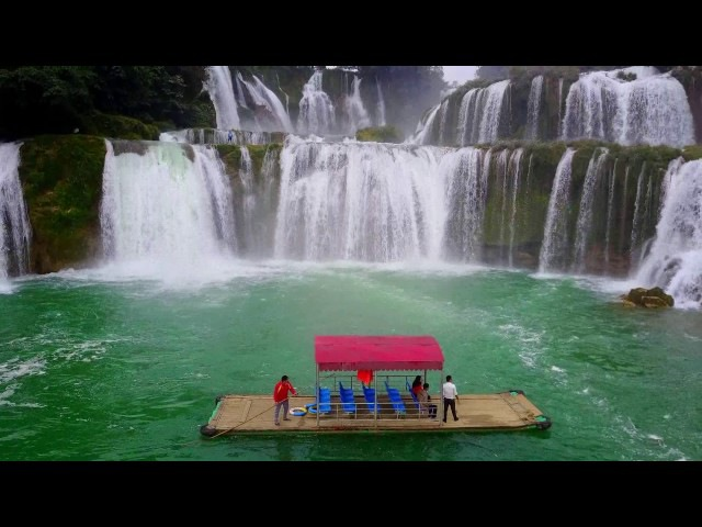 Bản Giốc / Detian - the greatest waterfalls seen as never before!