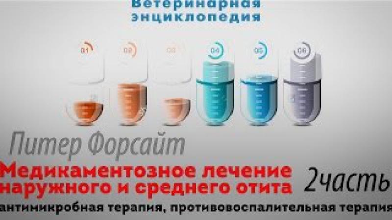Лечение наружного и среднего отита Антимикробная терапия противовоспалительная терапия