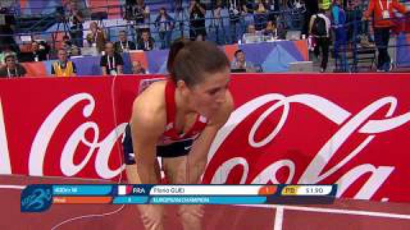 Floria GUEI PB 51 90 Women's 400m Final ᴴᴰ European Indoor Championships Belgrade 2017