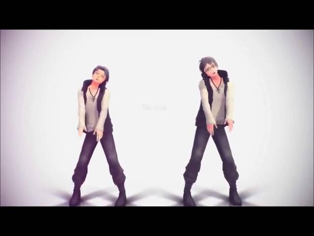 Капрал Леви и Эрен танцуют под песню tik tok